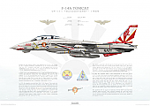 F-14A Tomcat VF-111 Sundowners, NL200