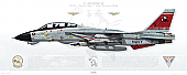 F-14D Tomcat VF-31 Tomcatters, AJ101